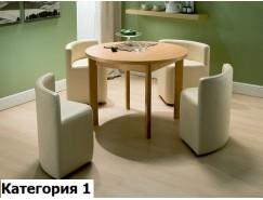 Комплект стол круглый с банкетками (СКБ) (I)