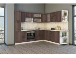 МН для кухни Агава 2,8x2,3 м белый\лиственница темная