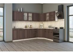 МН для кухни Агава 2,85х1,85 м белый\лиственница темная