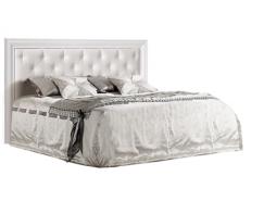 Кровать 2-спальная Амели 1,4 м с мягким элементом с подъемным механизмом АМКР140-2[3]