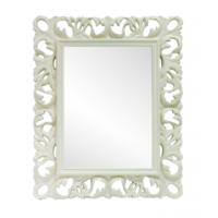 Зеркало прямоугольное белое
