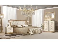 Спальня Тиффани штрих-золото
