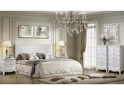 Спальня Амели 4 выбеленный дуб