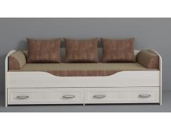 Кровать Колибри бодега белая