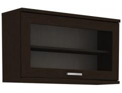 Антресоль с стеклянным фасадом гарун-К 704.04 венге