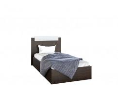 Кровать 0,9 (ш900*в850*г2000) венге/сосна лоредо