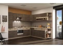 МН для кухни Эра 2,8х2,49 м ясень шимо светлый / зебрано