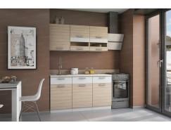 МН для кухни Эра 1,5 м белый артекс / сахара