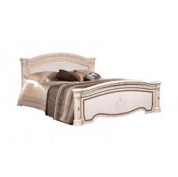 Кровать 2-х спальная с подъемным механизмом, без матраца Карина 3 бежевый К3КР-1(Л)[3]