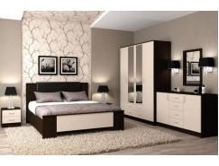 Кровать 1,4 арт.013 Кэт 7 венге Linum/дуб белфорт