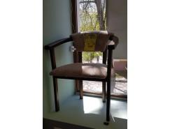 Стул-кресло орех