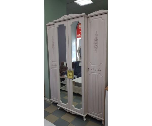 Шкаф для одежды 06.116 Кантри вудлайн кремовый/сандал белый