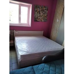 """Кровать с ортопедическим основанием 616 арктика + матрац """"Дублин"""""""
