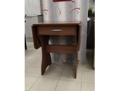 Стол раскладной с ящиком 6-02.120 слива