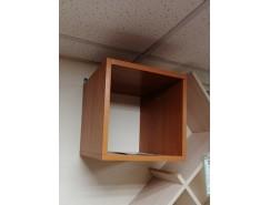 Полка настенная Кубик -1 вишня