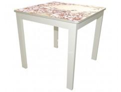 Стол обеденный Классик средний белый Luminar 81/82