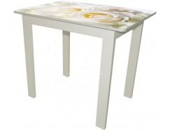 Стол обеденный Классик малый белый Luminar 85/86