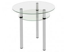 Стол обеденный Рио-11 Бесцветное (2-1)