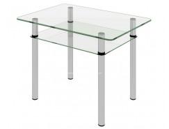 Стол обеденный Рио-12 Бесцветное (2-1)