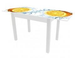 Стол обеденный Вена раздвижной белый