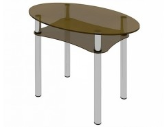 Стол обеденный Рио-8 Бронза (1-1)