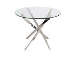 Стол обеденный Кристалл Бесцветное (2-1) F