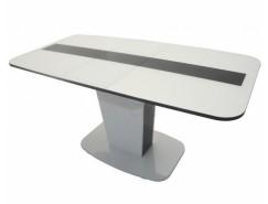 Стол обеденный Токио Luminar 107 (Белый)