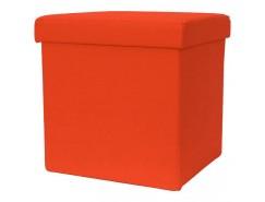 Пуф ПФ-9 оранжевый