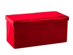 Пуф ПФ-10 красный