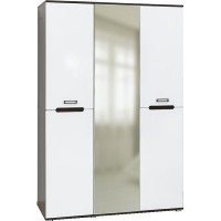 Шкаф 3-д Вегас  венге/белый глянец
