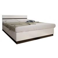 Кровать Вегас 1,6 венге/белый глянец