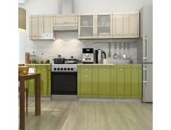МН для кухни Сити Глянец Компл. 2 олива/ваниль