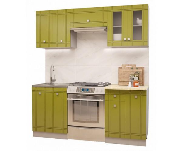 МН для кухни Сити Глянец Компл. 4 олива