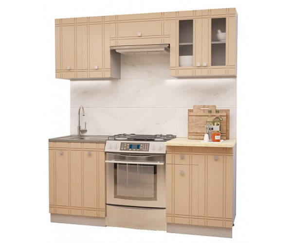 МН для кухни Сити Глянец Компл. 4 ваниль