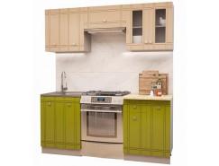 МН для кухни Сити Глянец Компл. 4 олива/ваниль