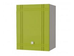 Кухня Сити глянец шкаф 500 серый/олива