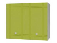 Кухня Сити глянец шкаф 600 серый/олива