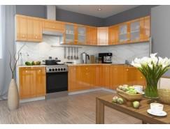 МН для кухни Сити Глянец серый/апельсин