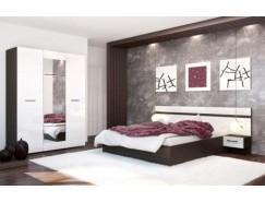 Спальня Ненси венге/белый глянец