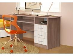 Письменный стол  ЛДСП ясень шимо темный/ясень шимо светлый