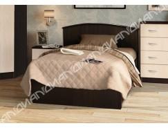 Кровать 1,2 арт.032  ЛДСП низкий щиток венге Linum