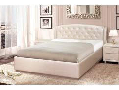 Кровать мягкая арт.016 Диана 1,6 Sontex-milk