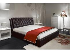 Кровать мягкая арт.014 Клеопатра-2 1,6 Sontex-milk