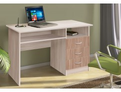 Письменный стол  ЛДСП ясень шимо светлый/ясень шимо темный