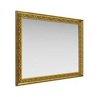 Зеркало навесное Айрум дуб кальяри/профиль золото с орнаментом