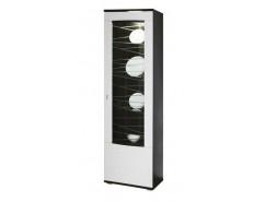 Шкаф-пенал 06.110 (правое/левое) венге/белый дым