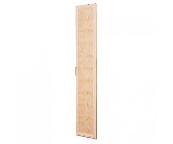 Дверь 2188х396 Волжанка кож.зам. дуб линдберг/крок кремовый