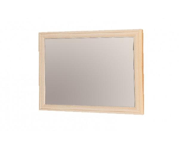 Зеркало навесное Волжанка дуб линдберг/крок кремовый