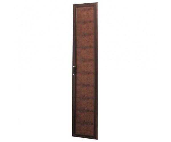 Дверь 2188х396 Волжанка кож.зам. венге/крок коричневый