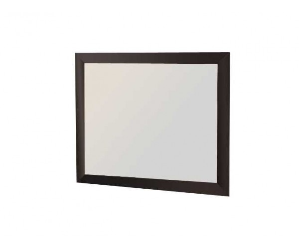Зеркало навесное Волжанка венге/крок коричневый